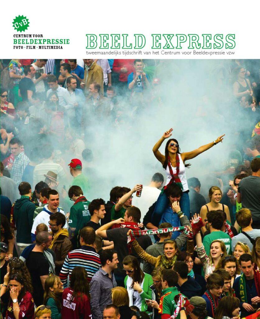 Foto Etienne Deman op de cover van Beeld Expres